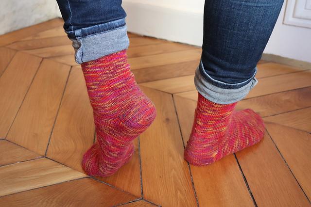 chaussettes du mois de mai version simplifiée - usure
