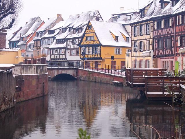 Quartier pittoresque (Colmar, F)