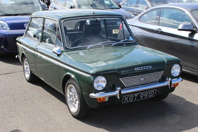 257 Singer Chamois (1966) KGT 991 D