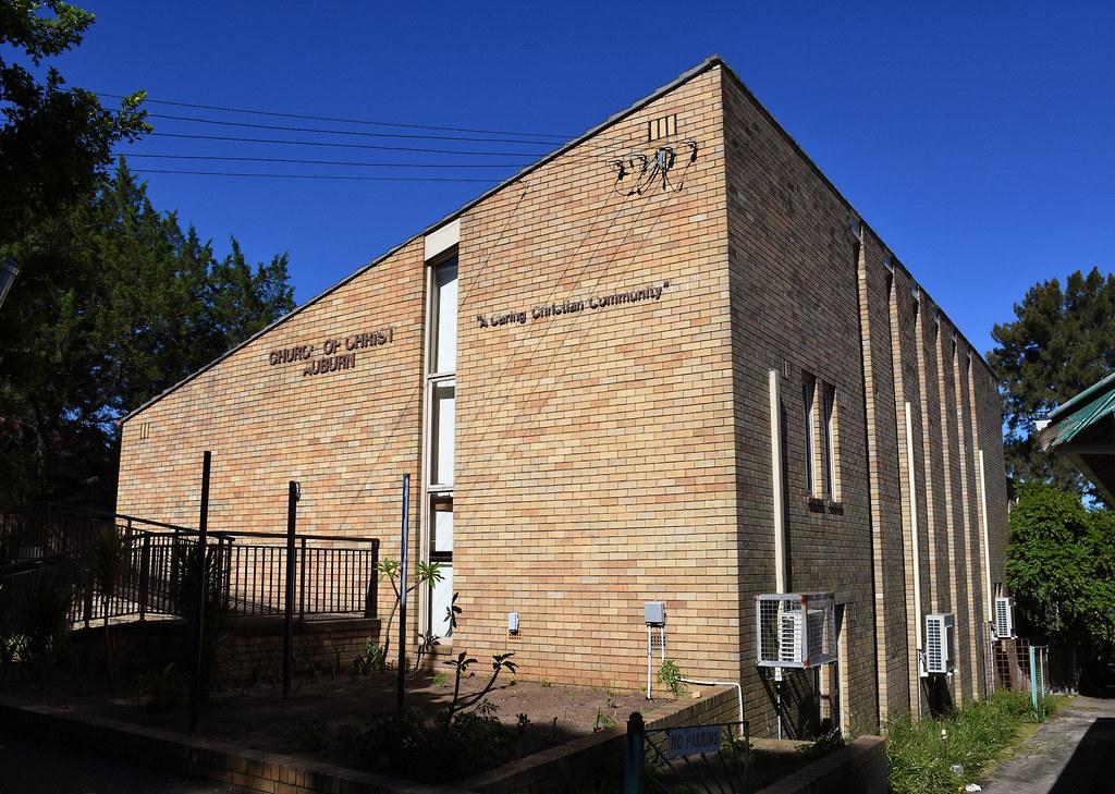 Church of Christ, Auburn, Sydney, NSW.