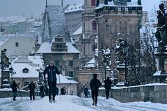 Na běžkách v centru Prahy