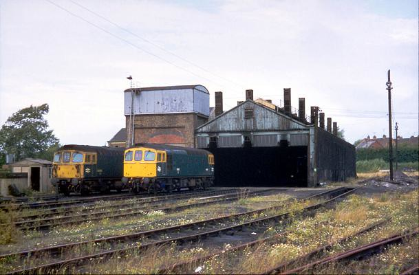 D6513 & D6515 @ Weymouth Shed