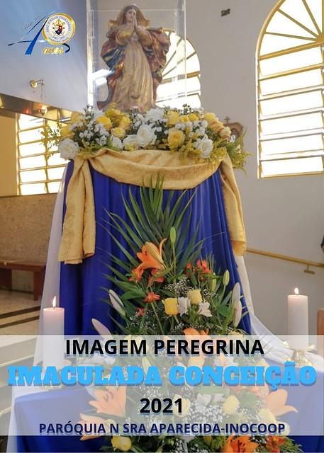 Imagem Peregrina da Imaculada Conceição na Paróquia Nossa Senhora Aparecida – Inocoop