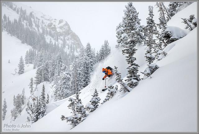 Alta Snow Gnome Powder Skier