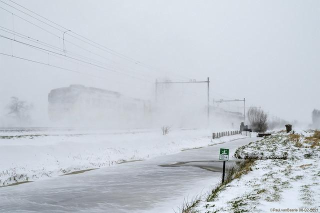 Stuifsneeuw / Drifting snow (2)