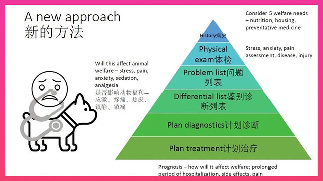 Diagram illustrating a new approach to animal welfare