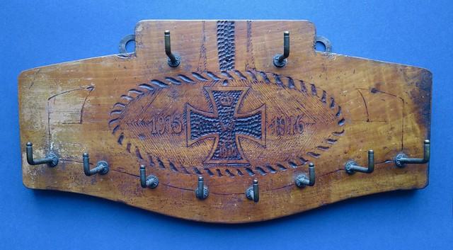 Iron Cross key rack