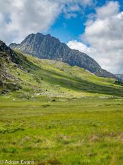Tryfan Mountain Snowdonia Wales
