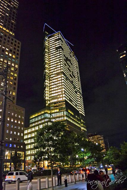 Goldman Sachs Tower 200 West Street Skyscraper near Freedom Tower WTC Lower Manhattan New York City NY P00799 DSC_0175