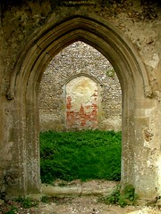 looking in through the south doorway