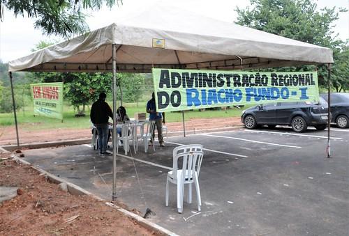 Governo vai às quadras no Riacho Fundo
