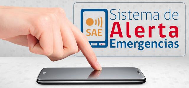 Conoce c�mo funciona el Sistema de Alerta de Emergencia (SAE)