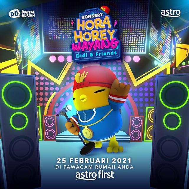 Poster Konsert Hora Horey Wayang Didi And Friends