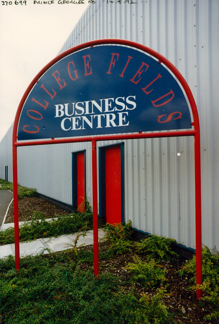 College Fields Business Centre, Prince Georges Rd, Collier's Wood, Mitcham, 1992 TQ2769-001