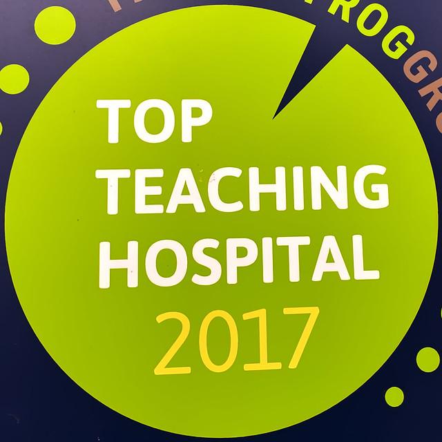 top teaching hospital - 2017