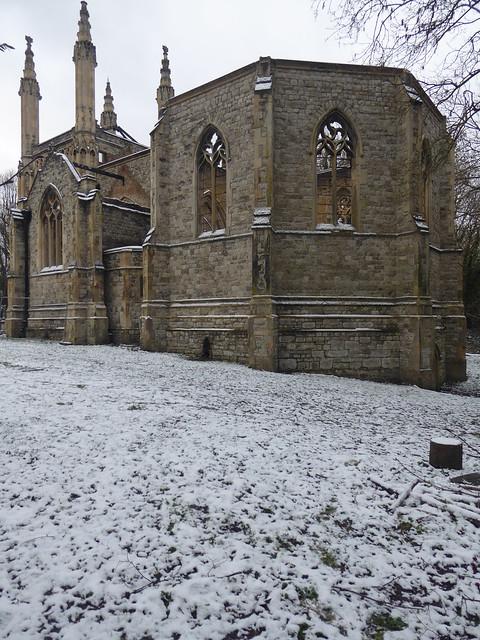 Ruined Chapel, Nunhead Cemetery, London