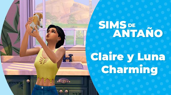 Sims de Antaño: Claire y Luna Charming