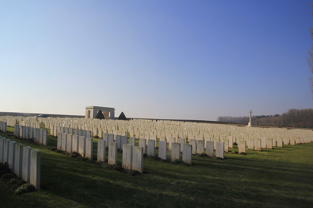 Guillemont Road Cemetery, The Somme, France. WW1.