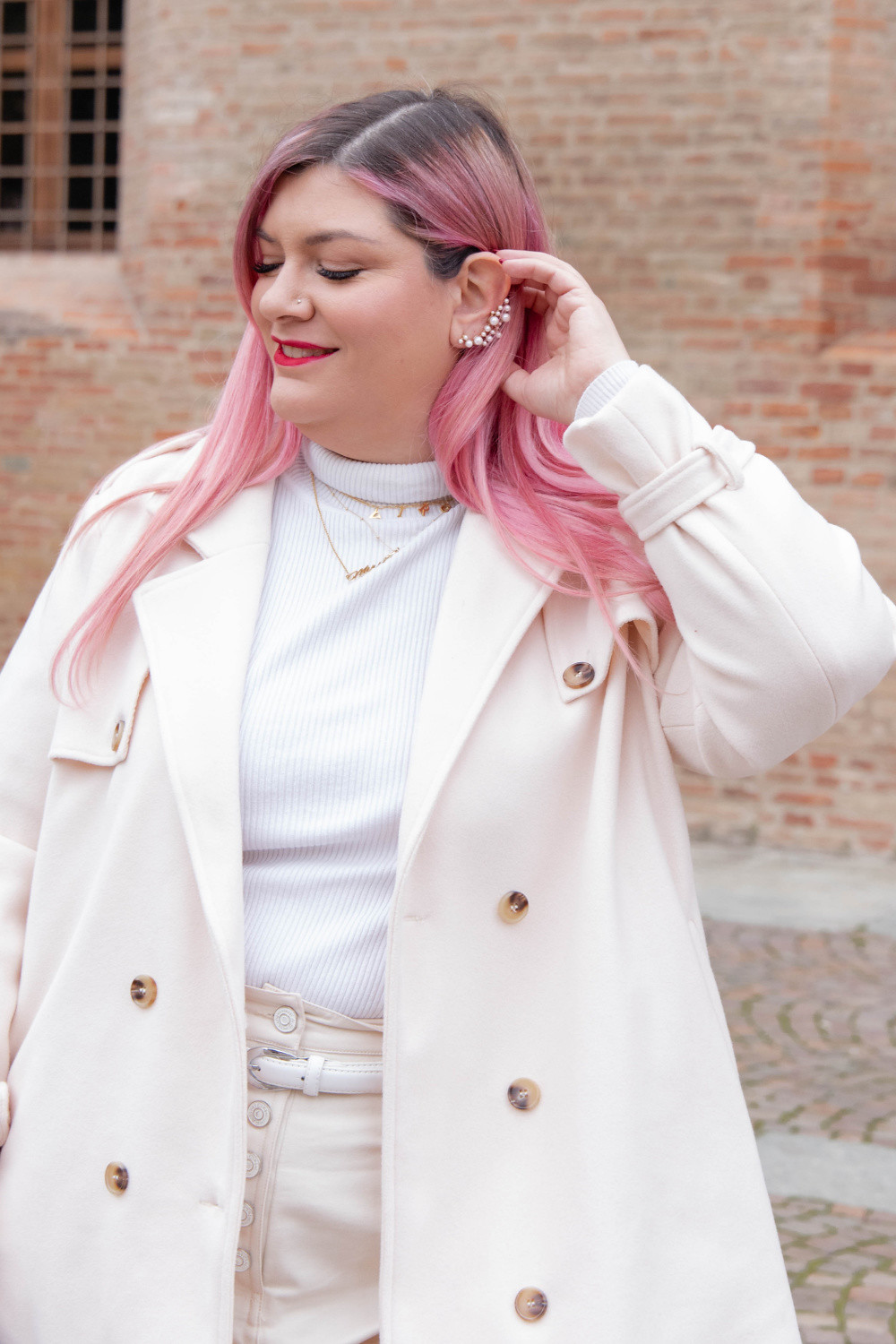 outfit curvy plus size total  white (9)