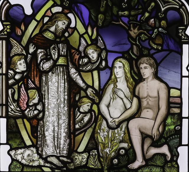 Adam and Eve in Eden