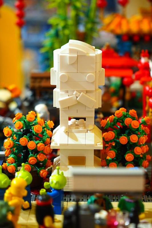 Bricks World Ion CNY Diorama