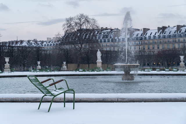 A very cold day in Paris