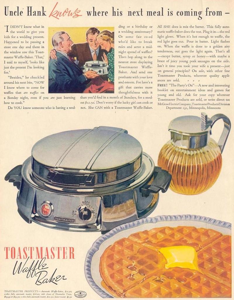 Toastmaster 1937