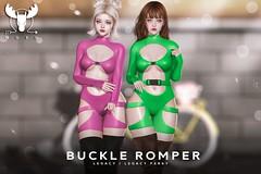 -MUSU- Buckle Romper @ Equal10