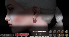 #Schoen - Locked - Earrings