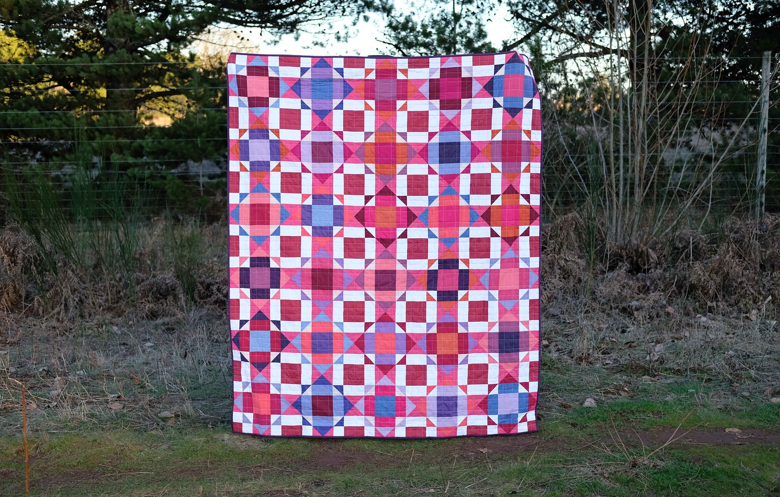 Valentine Naomi Quilt - Kitchen Table Quilting