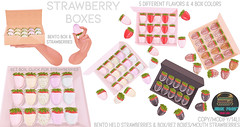 Junk Food - Strawberry Boxes Ad