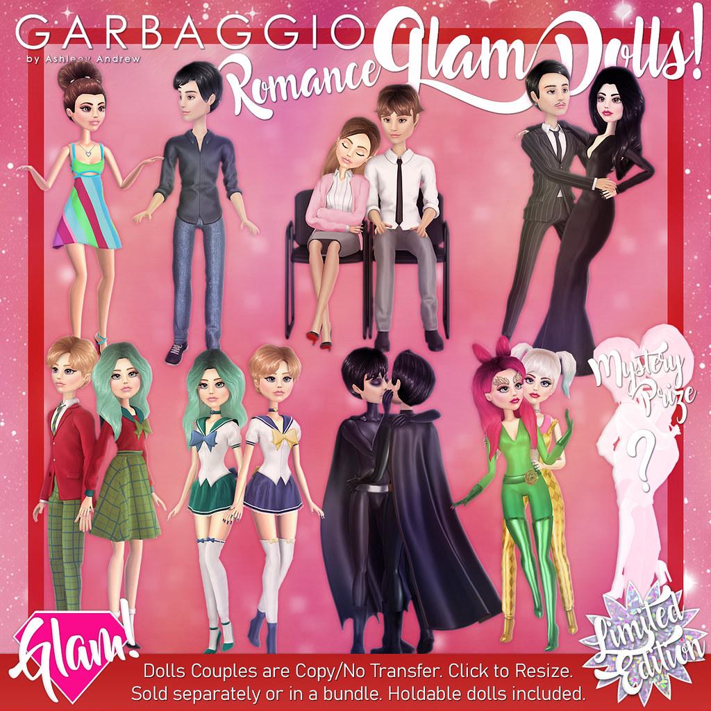Cupid Inc. Romance Glam Dolls