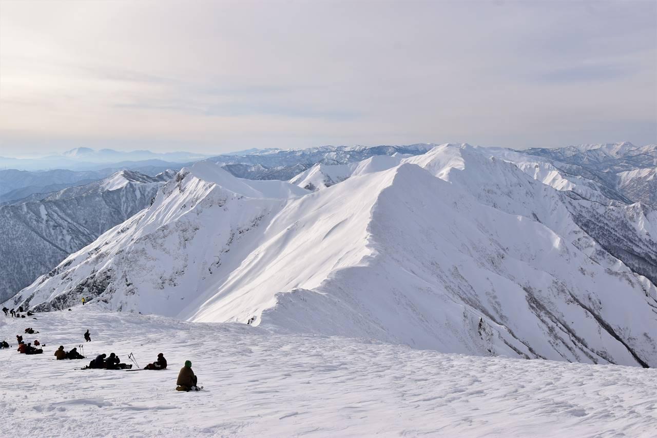 冬の谷川岳(天神尾根コース)雪山登山 谷川主脈