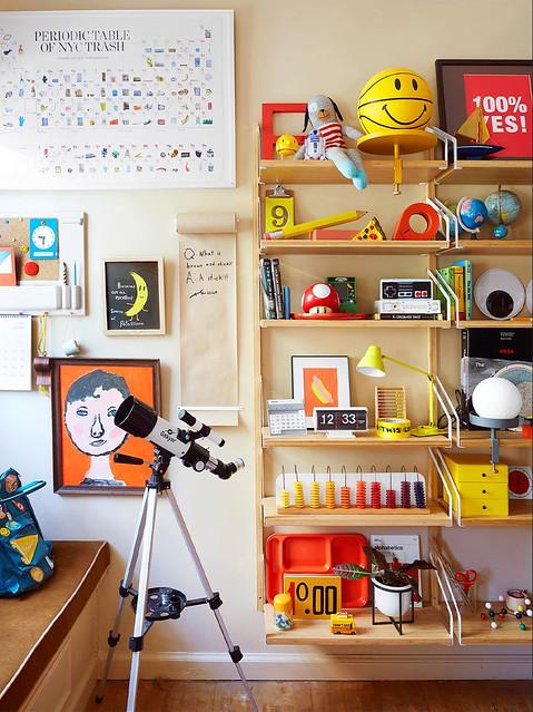 Wall Cluster & String Shelves