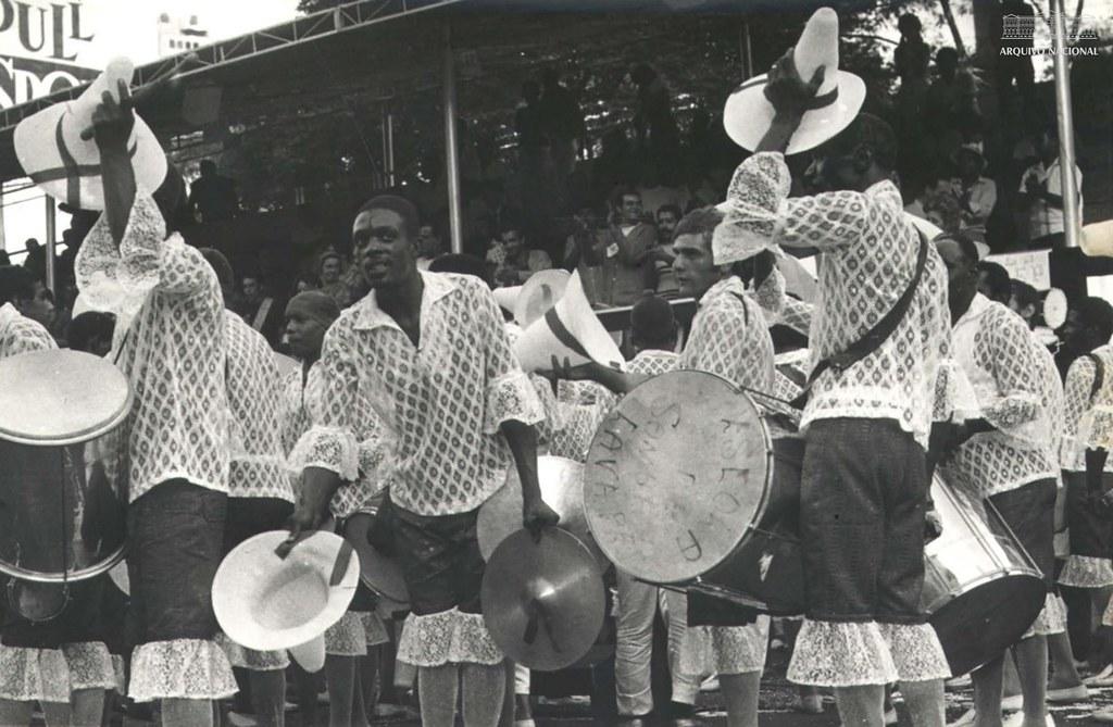Desfile da Escola de Samba Lavapés, São Paulo, 1970