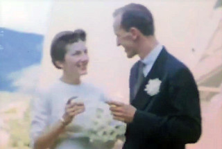 Hugh Bradner and Marjorie Hall