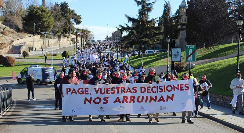 PROTESTAS HOSTELERÍA CLM
