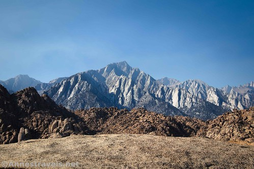 Lone Pine Peak from the Mobius Arch Trail, Alabama Hills National Scenic Area, California