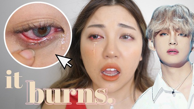 bts mtpr contact lenses review first impression try on haul