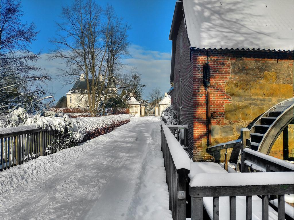 Hünxe - Schloss Gartrop Wassermühle 04