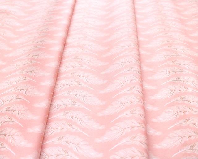 Art Gallery Fabrics Homebody Presently Plumes Rose