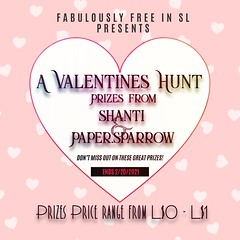 Fabfree Valentines Hunt 2021