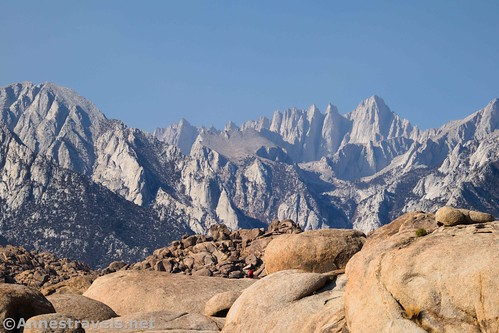 Mt. Whitney from the Mobius Arch Loop, Alabama Hills National Scenic Area, California