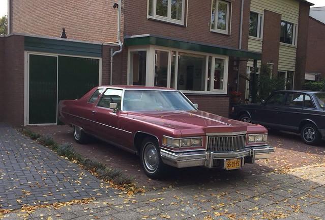 1974 Cadillac Coupe DeVille 55-DJ-PZ