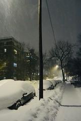 NYC Snowstorm 2021