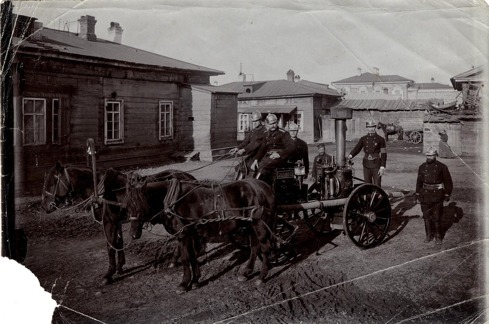 Паровая машина «Малютка» Иркутского пожарного общества