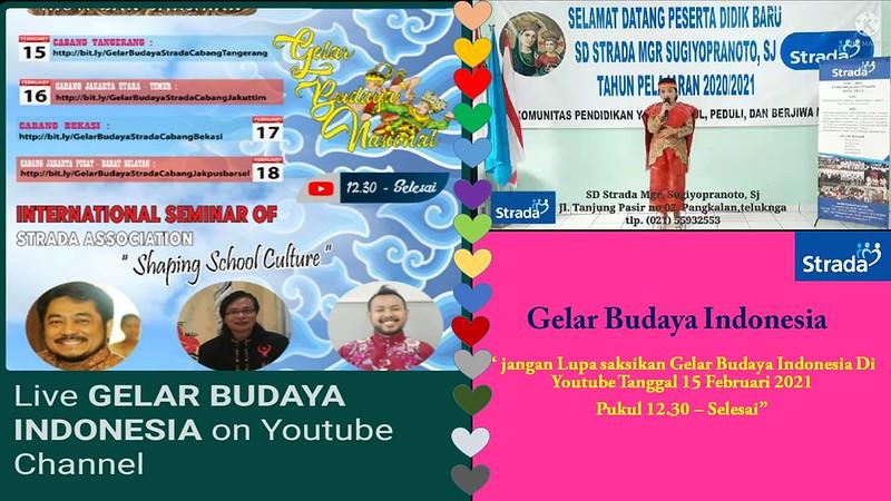 """Gelar Budaya Indonesia"" Melalui Youtube Strada"