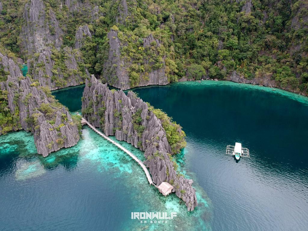 Coron Island twin lagoon