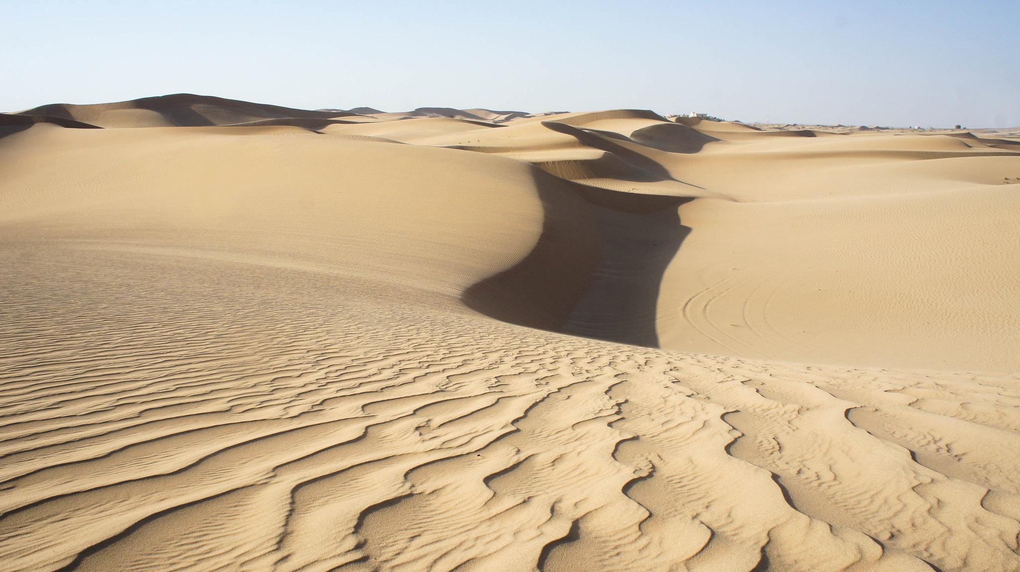 Beautiful sand dunes