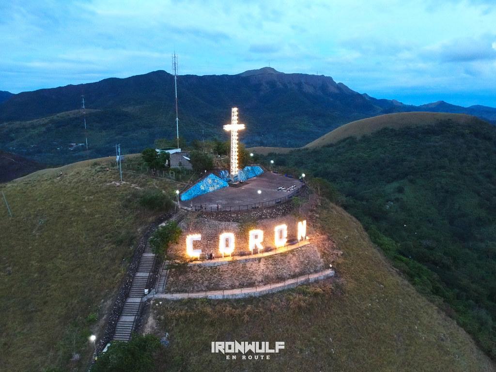 Coron signage at Mt Tapyas